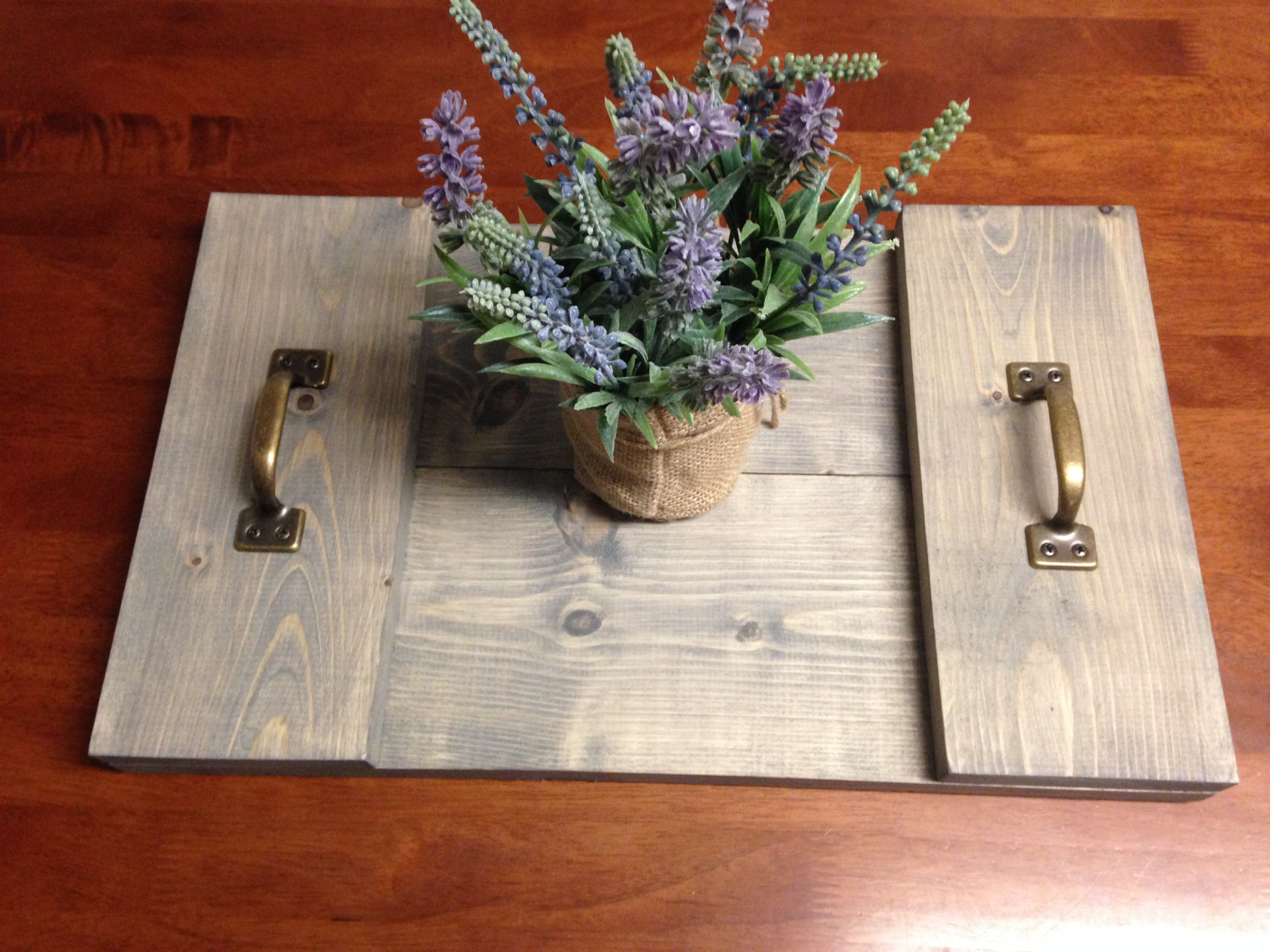 Rustic Table Tray