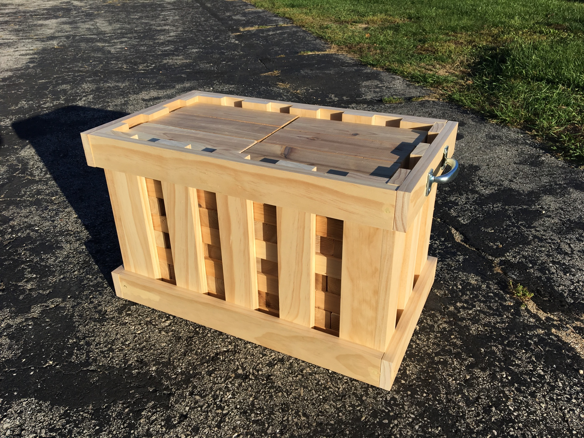 Giant Jenga Carrying Crate